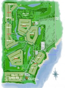 Gleniffer lake lots map