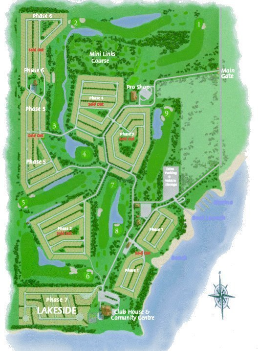 SiteLot Plans Gleniffer Lake Resort and Country Club